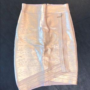 Dresses & Skirts - Metallic Gold Skirt